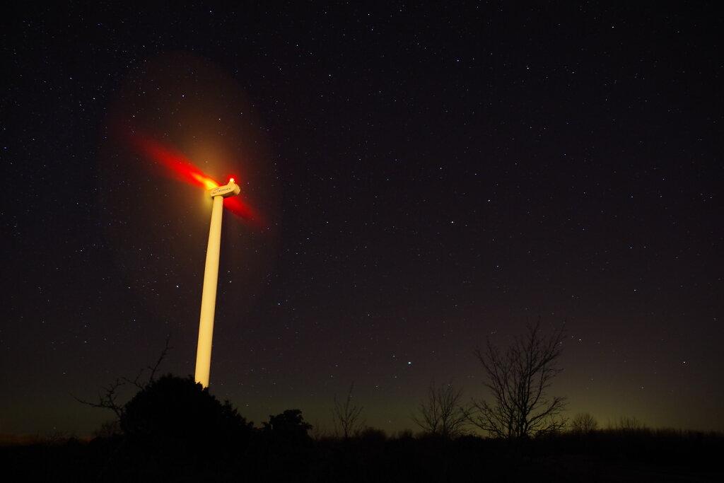Öö Paldiski tuulepargis